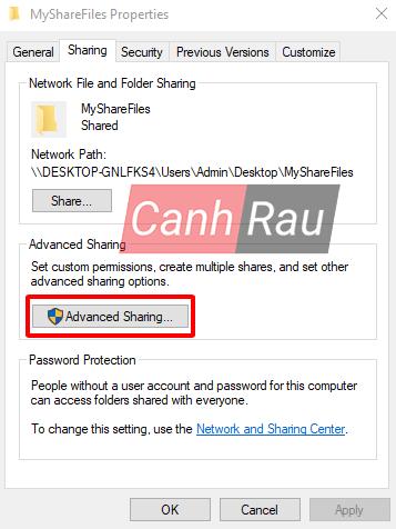 Cách share thư mục file trong Windows 10 hình 10