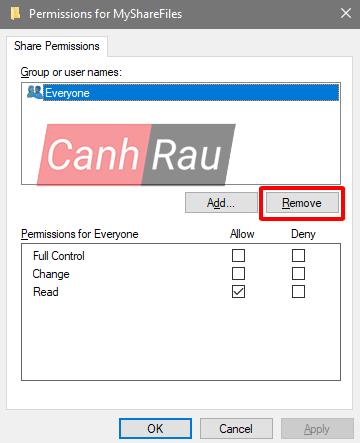 Cách share thư mục file trong Windows 10 hình 12