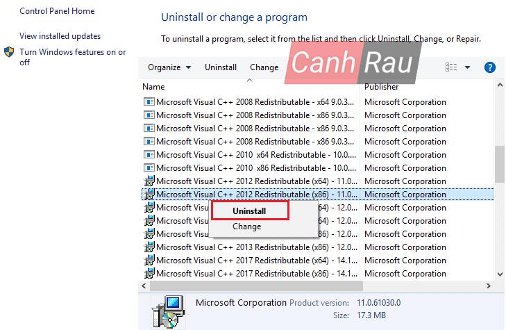 Cách sửa lỗi thiếu file vcruntime140.dll hình 9