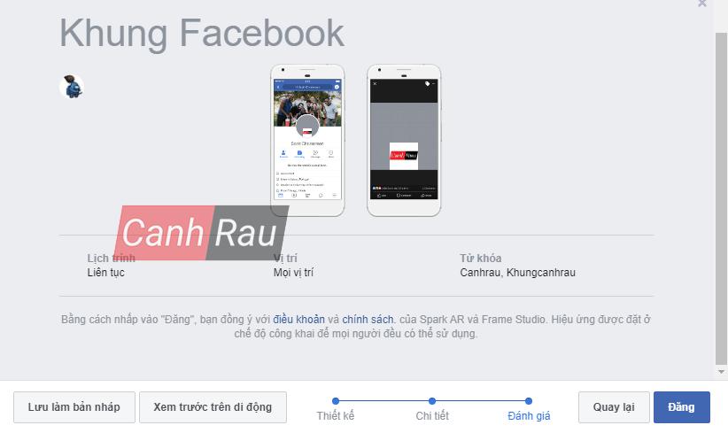 Cách tạo khung avatar Facebook hình 4