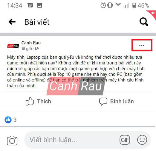Cách tắt tính năng bình luận trên Facebook hình 8
