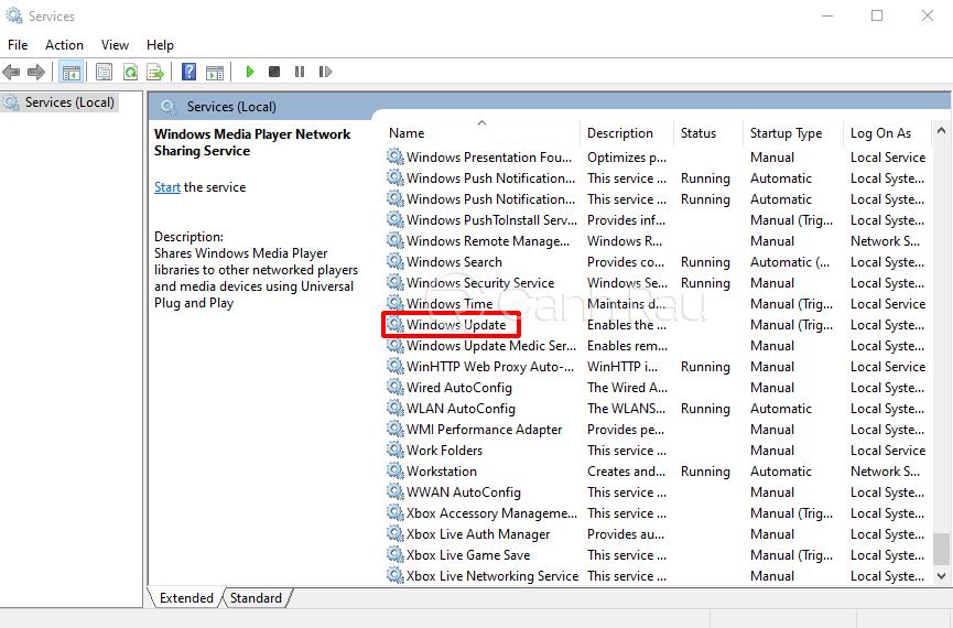 Cách tắt update trong Windows 10 hình 10