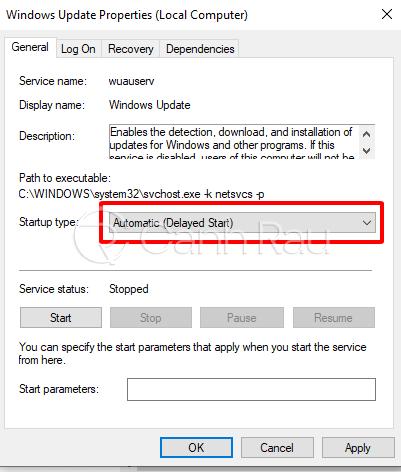 Cách tắt update trong Windows 10 hình 12