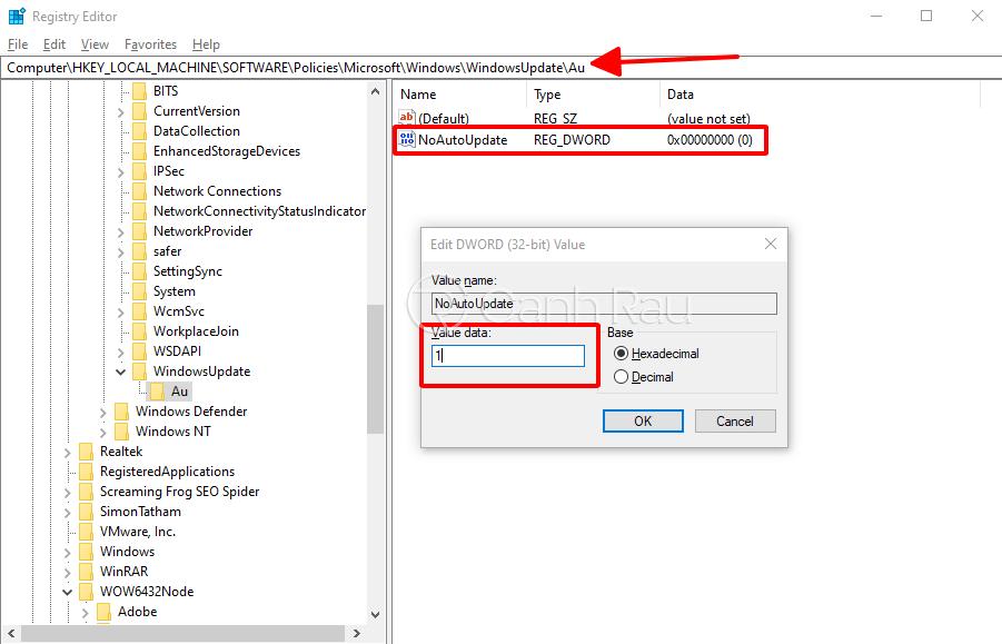 Cách tắt update trong Windows 10 hình 13