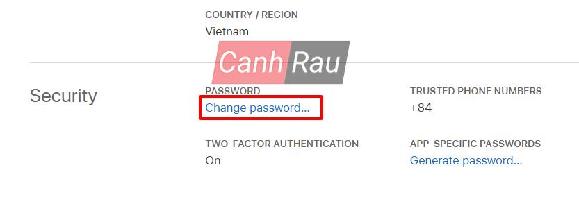 Cách thay đổi mật khẩu iCloud trên máy tính và điện thoại hình 3