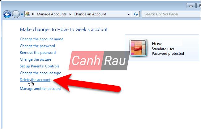 Cách xóa tài khoản User Account trên Windows 10 hình 22