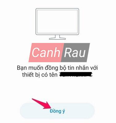 Hướng dẫn cách đồng bộ tin nhắn trên Zalo hình 3