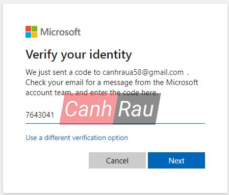 Hướng dẫn lấy lại mật khẩu tài khoản Skype hình 12