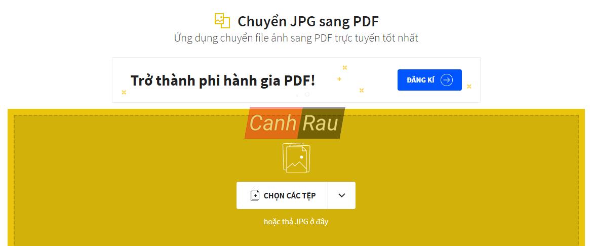 Phần mềm chuyển file ảnh sang PDF hình 5