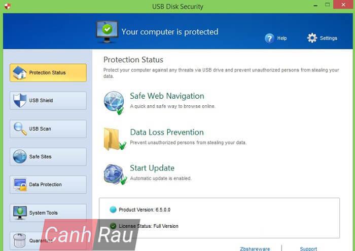 Phần mềm diệt virus cho USB hình 1