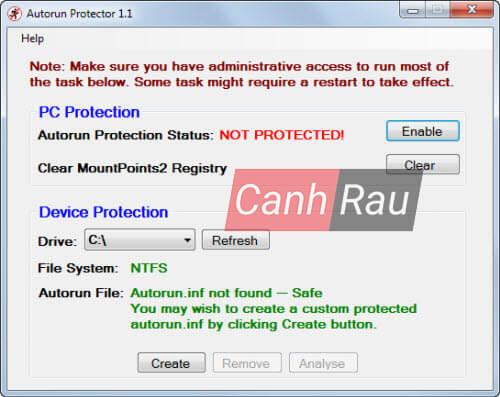 Phần mềm diệt virus cho USB hình 8