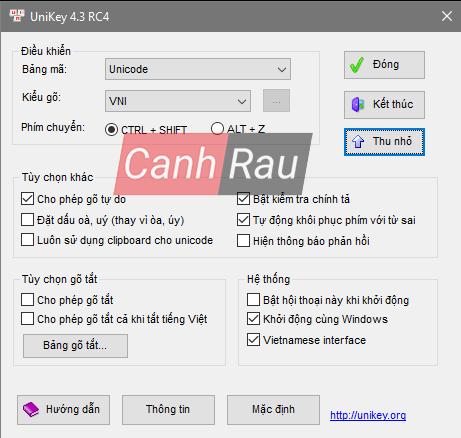 Phần mềm gõ tiếng việt tốt nhất cho máy tính hình 1