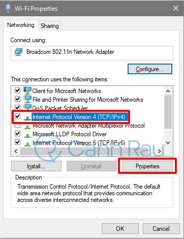Sửa lỗi máy tính không vào được Facebook hình 8