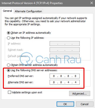 Sửa lỗi máy tính không vào được Facebook hình 9