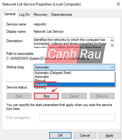 Sửa lỗi update Windows 10 0x80070422 hình 16