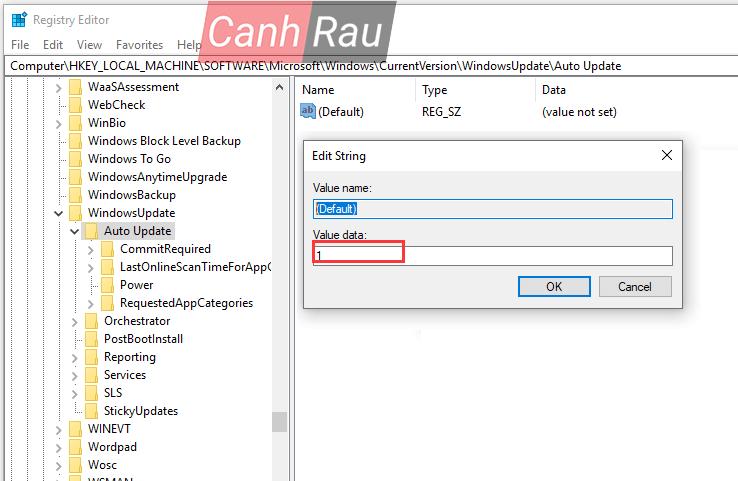 Sửa lỗi update Windows 10 0x80070422 hình 27