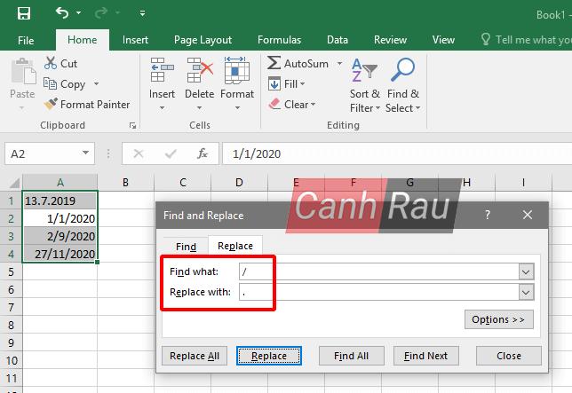 Cách định dạng ngày tháng trong Excel hình 10