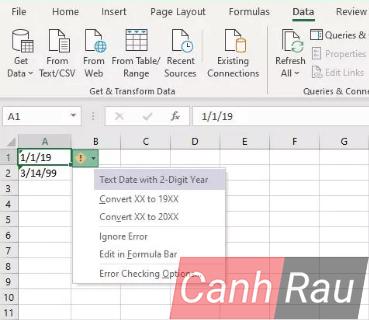 Cách định dạng ngày tháng trong Excel hình 17