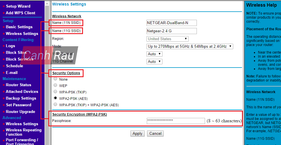 Cách đổi mật khẩu Wifi hình 24