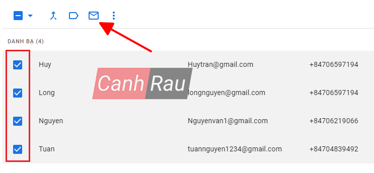 Cách gửi email hàng loạt cho nhiều người cùng lúc hình 12