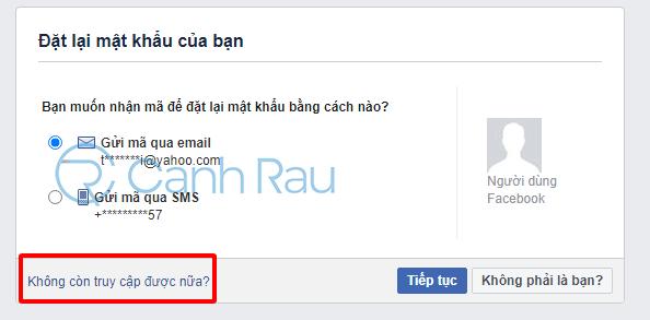 Cách lấy lại nick Facebook khi không có Email và số điện thoại hình 5