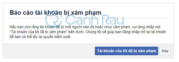 Cách lấy lại tài khoản Facebook khi bị hack hình 12