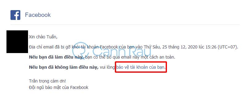 Cách lấy lại tài khoản Facebook khi bị hack hình 24