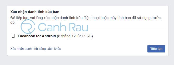 Cách lấy lại tài khoản Facebook khi bị hack hình 28