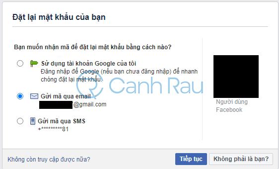 Cách lấy lại tài khoản Facebook khi bị hack hình 3