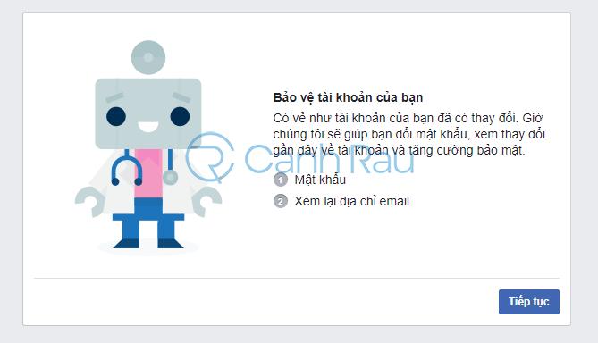 Cách lấy lại tài khoản Facebook khi bị hack hình 30