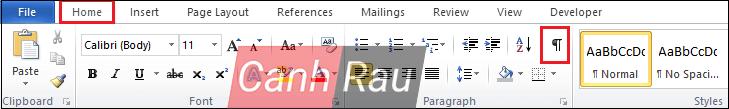 Cách ngắt trang trong Word hình 7