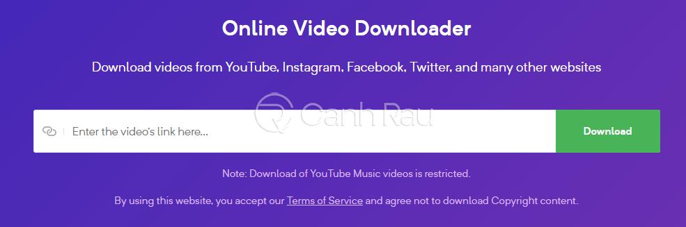 Cách tải video trên trang web bất kỳ về máy tính hình 5