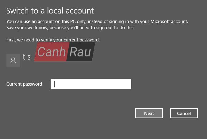 Cách tắt mật khẩu máy tính Windows 10 hình 2