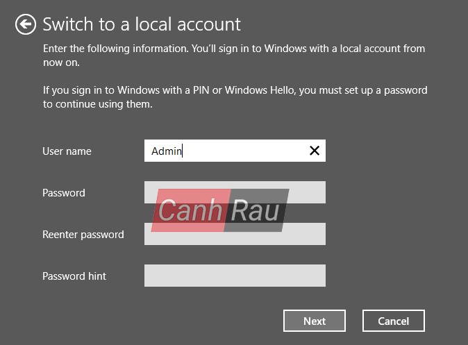 Cách tắt mật khẩu máy tính Windows 10 hình 3