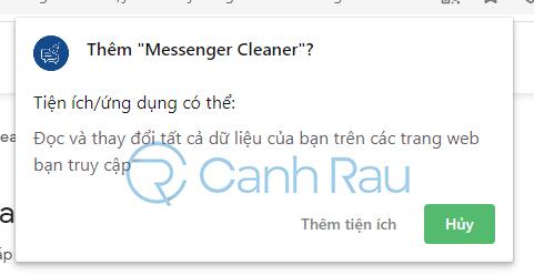 Cách xóa nhiều tin nhắn trên Messenger hình 2