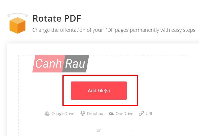 Cách xoay file PDF trên máy tính hình 1
