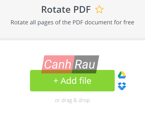 Cách xoay file PDF trên máy tính hình 10