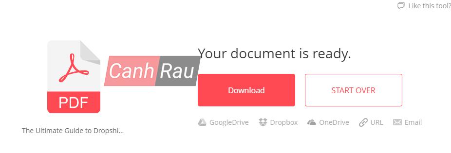 Cách xoay file PDF trên máy tính hình 3