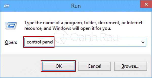 Hướng dẫn cách mở Control Panel trên Windows 10 hình 5
