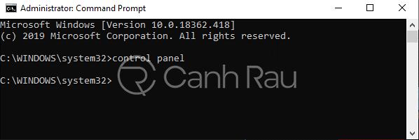 Hướng dẫn cách mở Control Panel trên Windows 10 hình 7
