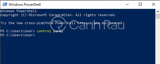 Hướng dẫn cách mở Control Panel trên Windows 10 hình 9