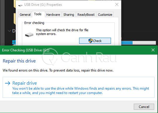 Hướng dẫn sửa lỗi không format được USB hình 14