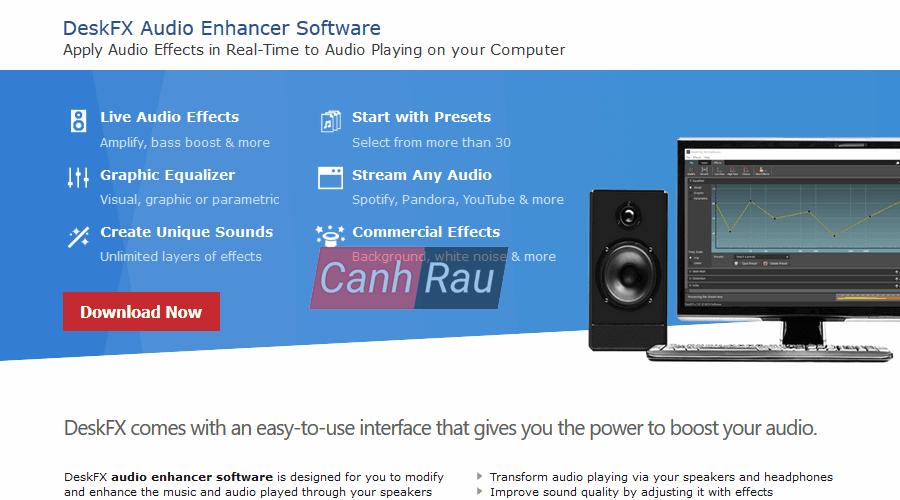 Phần mềm tăng âm lượng cho máy tính và laptop hình 2