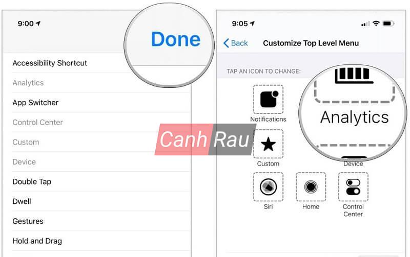 Cách bật nút Home ảo trên iPhone hình 7
