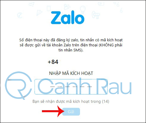 Cách đăng nhập Zalo bằng Facebook hình 6