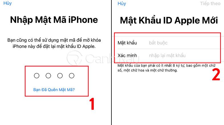 Cách lấy lại mật khẩu iCloud khi quên hình 10