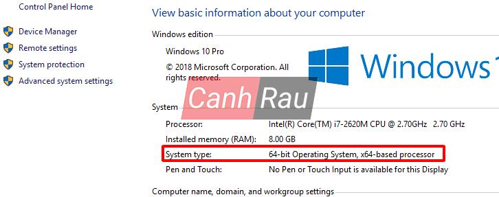 Cách sửa lỗi this app can't run on your PC Windows 10 hình 2