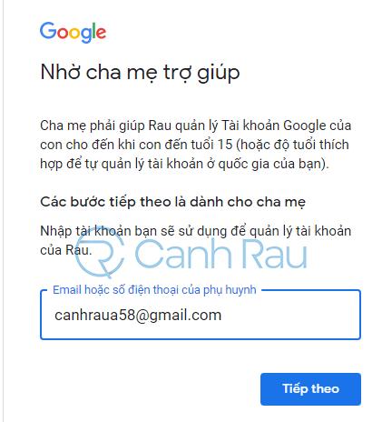 Cách tạo tài khoản Gmail không cần số điện thoại hình 16