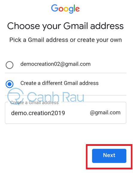 Cách tạo tài khoản Gmail không cần số điện thoại hình 7