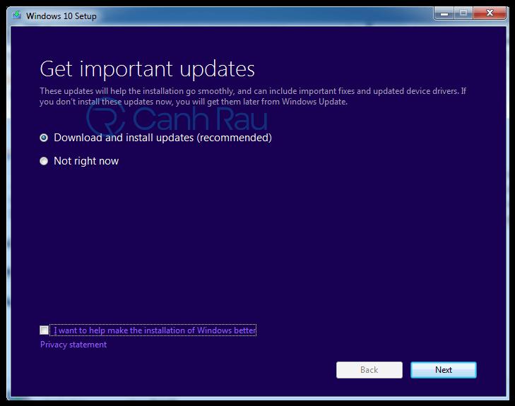 Hướng dẫn nâng cấp lên Windows 10 hình 5